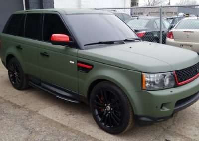 Range Rover Window Tinted