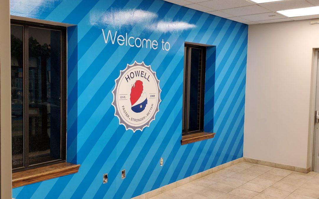 Pepsi Wall Mural for Pepsi's North Division